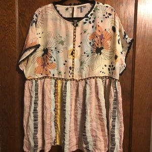 NWOT Kynsa tunic from Anthropologie.